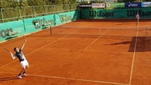 Нестеров и Терзиев загубиха финала на двойки в Бургас, италианец взе титлата на сингъл