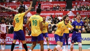 Световните шампиони от Полша се опитаха, но не можаха да спрат Бразилия на Световната купа (видео + снимки)