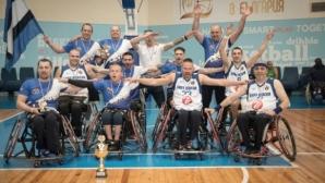 Левски спечели титлата от държавното първенство по баскетбол на колички