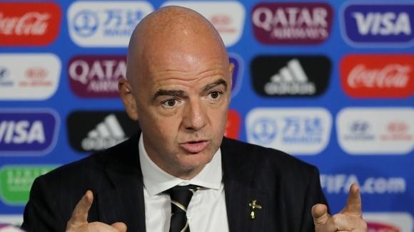 """ФИФА поиска по-строги мерки за расизма, Инфантино изненадан от """"някои части на света"""""""