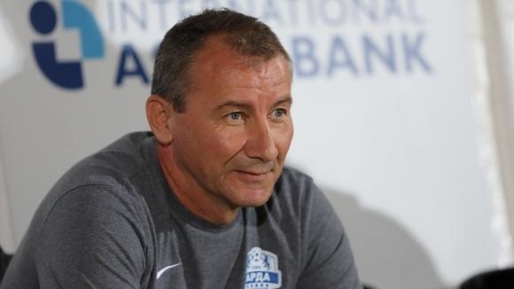 Стамен Белчев потвърди, че Делев няма да играе срещу Левски