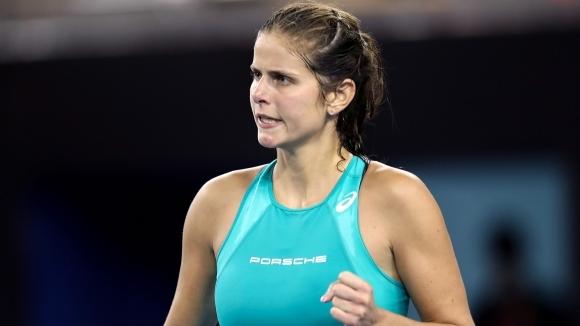 Юлия Гьоргес започна успешно защитата на титлата си в Люксембург