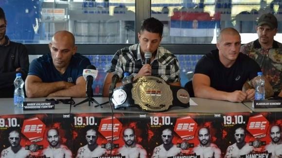Владислав Кънчев излиза на ринга в Белград