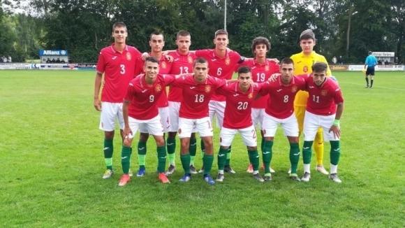 Юношите на България с тежко поражение