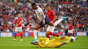 "Гоним чудо срещу Англия на ""Васил Левски"""