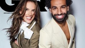 Мохамед Салах и Алесандра Амброзио заедно в GQ (видео + снимки)