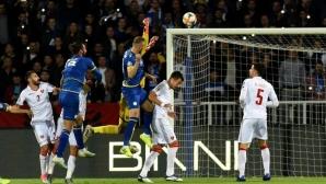 Косово се залепи за Чехия след лесна победа над Черна гора (видео)