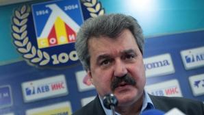 Тодор Батков: Футболните агитки се използват за политически цели, явно Боби Михайлов вече не е удобен