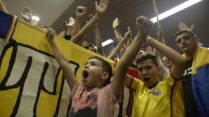Румъния - Норвегия постави европейски рекорд по брой деца на стадиона