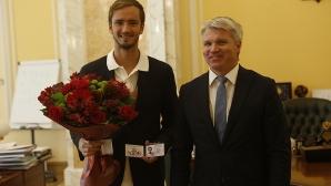 Медведев стана Заслужил майстор на спорта на Русия