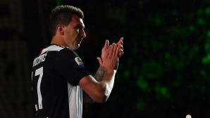 Спряганият за Юнайтед Манджукич се разбра с Милан, твърди милански вестник