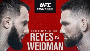 Пълна файт карта за UFC on ESPN 6