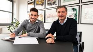 Искан от Барселона и ПСЖ избра да остане в Бундеслигата