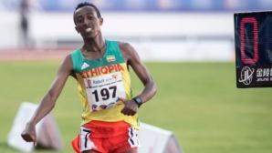 Шампион на Африка е временно отстранен от леката атлетика