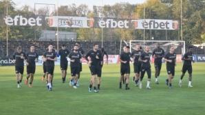 Локо (Пд) се готви усилено за мача с ЦСКА-София