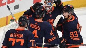 Едмънтън остана начело в НХЛ след победа срещу Детройт