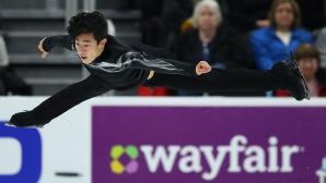 """Нейтън Чен спечели кратката програма в """"Скейт Америка"""""""
