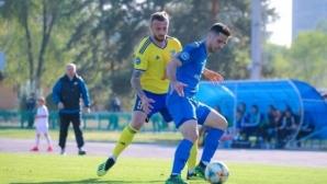 Мартин Тошев с нов гол за успех на Жетису в Казахстан