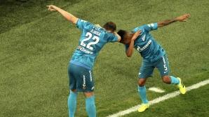 Зенит проведе наказателна акция срещу тима на Попето