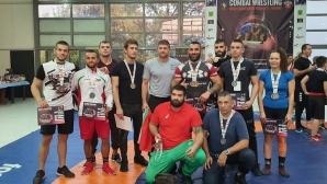 Шест световни титли за българските национали по комбат рестлинг