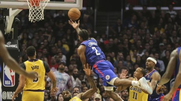 Ленърд засенчи ЛеБрон в битката между Клипърс и Лейкърс на старта на сезона в НБА
