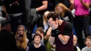 Сълзите на един голям шампион (видео)