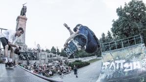 Мартин Атанасов носи първи точки в борбата за олимпийска квота в скейтборда