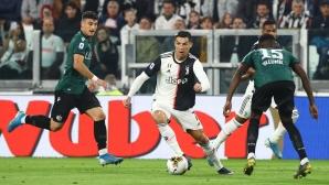 Кристиано: Със Сари играем по-атакуващ футбол
