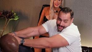 Русев нападна Лана и Боб Лейшли в ресторант (видео + снимки)