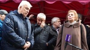 Христo Крушарски, Христо Бонев и Георги Иванов почетоха паметта на Лев Яшин