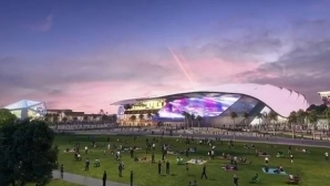 Отборът на Бекъм показа как ще изглежда новият му ултрамодерен стадион (видео)