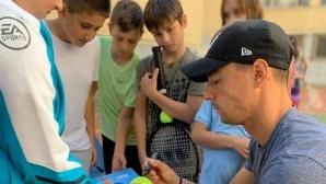 Кузманов проведе открит урок за ученици в София