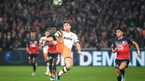 Валенсия изпусна победата срещу Лил в добавеното време
