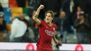 Спорен червен картон мотивира Рома за разгром, Удинезе отнесе 11 гола за 3 дни