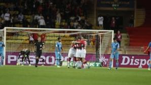 Монако продължава напред за Купата на лигата