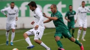 Поредна вратарска грешка провали Витоша, Славия продължава с победите (снимки+видео)