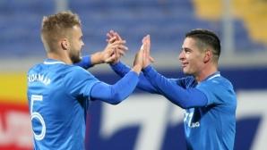 """Левски пропусна да разгроми Дунав, нередовен автогол и четири греди в полза на """"сините"""" (видео+галерия)"""