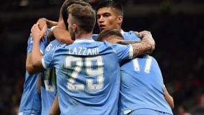 Лацио развали 30-годишната прокоба, наивни грешки провалиха Милан (видео)