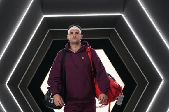 Григор Димитров с открит урок за млади тенис таланти в Хасково