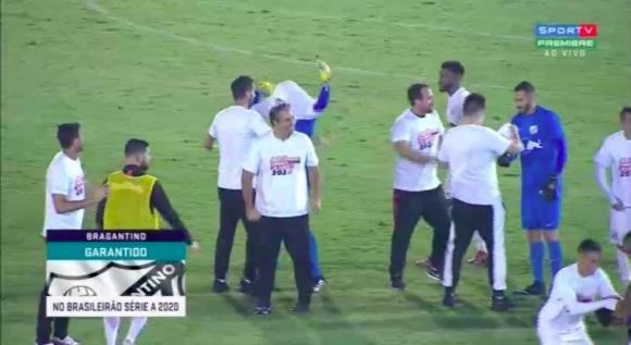 Брагантино се връща в елита на Бразилия след 22-годишна пауза