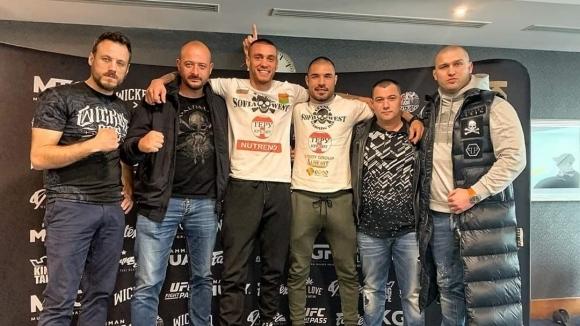 Дани Илиев премина успешно кантара преди защитата на титлата си в Лондон