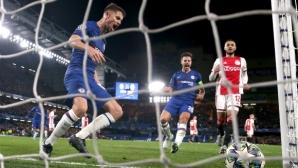 Луд мач за историята в Лондон: Челси и Аякс завъртяха спиращо дъха 4:4 (видео + галерия)