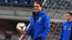 Италия с трима дебютанти за последните си два мача от евроквалификациите