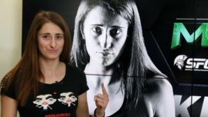 Теодора Кирилова отказа опонентката си на SFC 10 в Манчестър (видео)