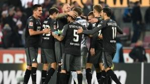 Хофенхайм съхрани победната си серия с гол в последните секунди