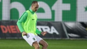 Недялков отпада за мачовете на националния отбор