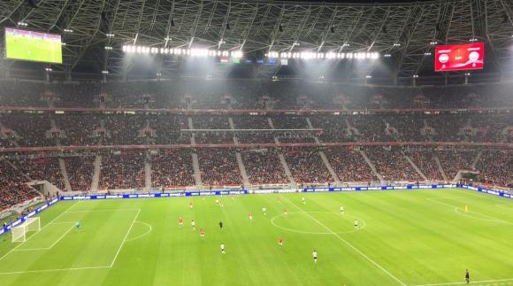 """Унгария откри """"Пушкаш Арена"""" със загуба от Уругвай (видео)"""
