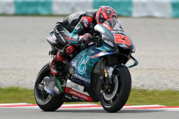 Куартараро пред Маркес в третата тренировка от MotoGP във Валенсия