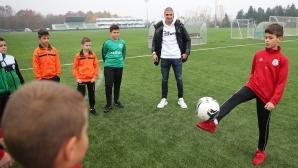 Десподов към младите таланти: Най-важното за един футболист е да има самочувствие