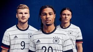 Бундестимът също се похвали с нов екип